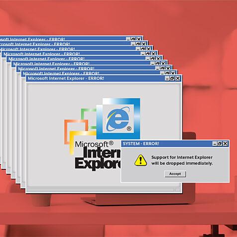 IE Internet Explorer has issues