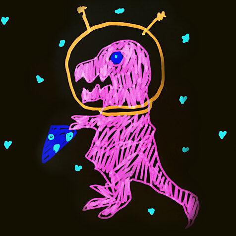 Spacedino Horizontal